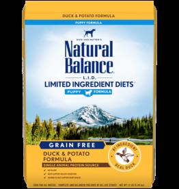 NATURAL BALANCE PET FOODS, INC NATURAL BALANCE PUPPY LID DUCK & POTATO 4.5lbs