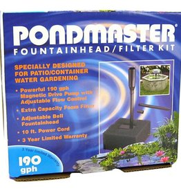 Danner Manufacturing, Inc. PONDMASTER 190 FOUNTAIN/FILTER