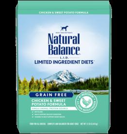 NATURAL BALANCE PET FOODS, INC NATURAL BALANCE DOG GRAIN FREE LID CHICKEN & SWEET POTATO 4LBS