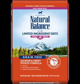 NATURAL BALANCE PET FOODS, INC NATURAL BALANCE DOG LID SALMON & SWEET POTATO  SMALL BREED 12LBS