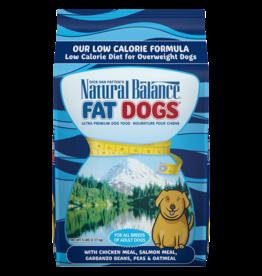 NATURAL BALANCE PET FOODS, INC NATURAL BALANCE FAT DOGS LOW CALORIE 28lbs
