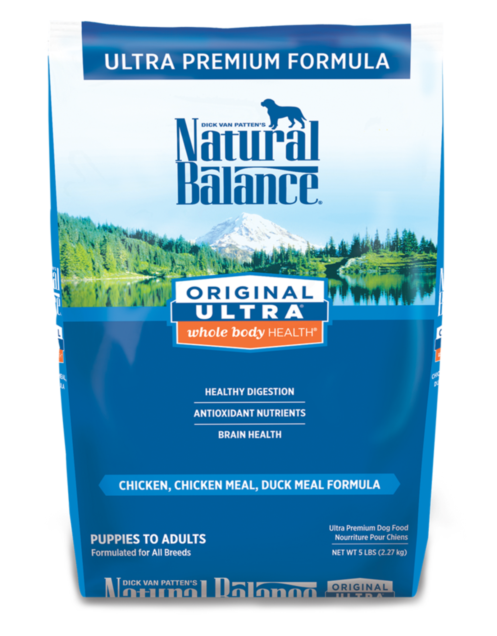 NATURAL BALANCE PET FOODS, INC NATURAL BALANCE DOG ULTRA CHICKEN 15LBS