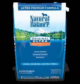 NATURAL BALANCE PET FOODS, INC NATURAL BALANCE DOG CHICKEN ORIGINAL ULTRA 15lbs