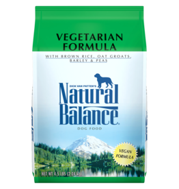NATURAL BALANCE PET FOODS, INC NATURAL BALANCE DOG VEGETARIAN 4.5LBS