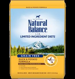 NATURAL BALANCE PET FOODS, INC NATURAL BALANCE DOG GRAIN FREE LID DUCK & POTATO 24LBS
