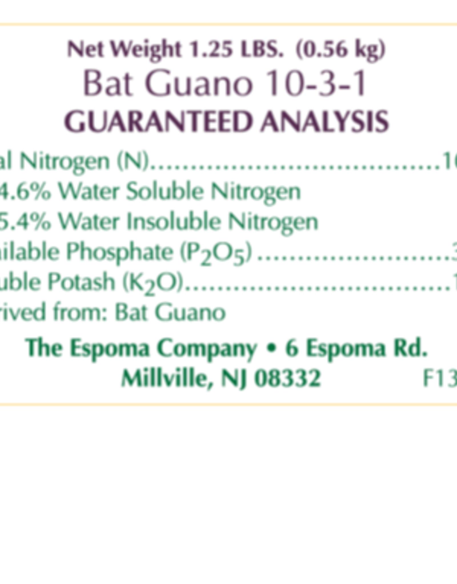 ESPOMA COMPANY ESPOMA BAT GUANO 1.25lbs