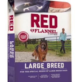 PURINA MILLS, INC. RED FLANNEL LARGE BREED 50LBS