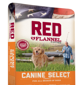PURINA MILLS, INC. RED FLANNEL DOG CANINE SELECT 40#