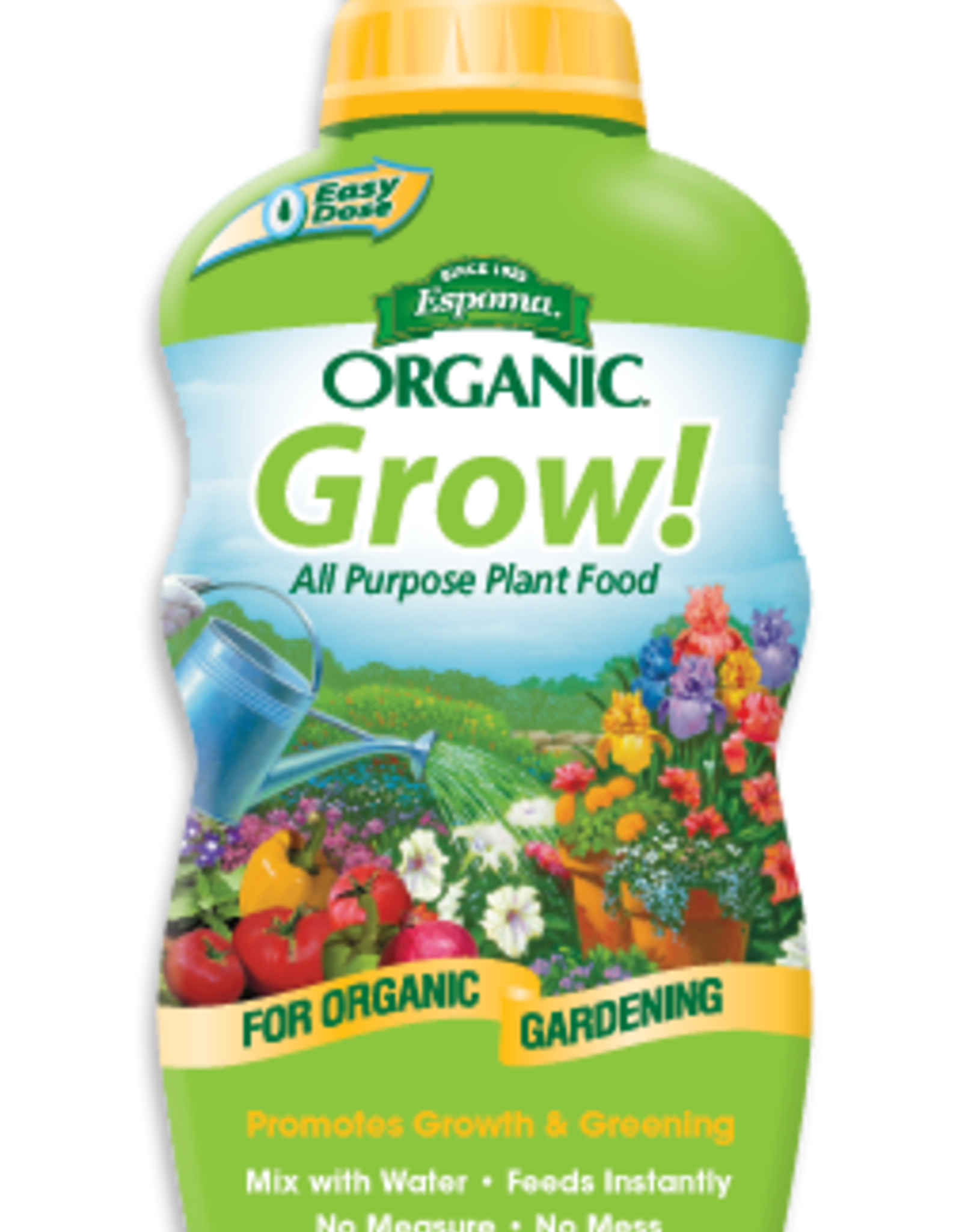 ESPOMA COMPANY ESPOMA ORGANIC GROW ALL PURPOSE PLANT FOOD 12OZ