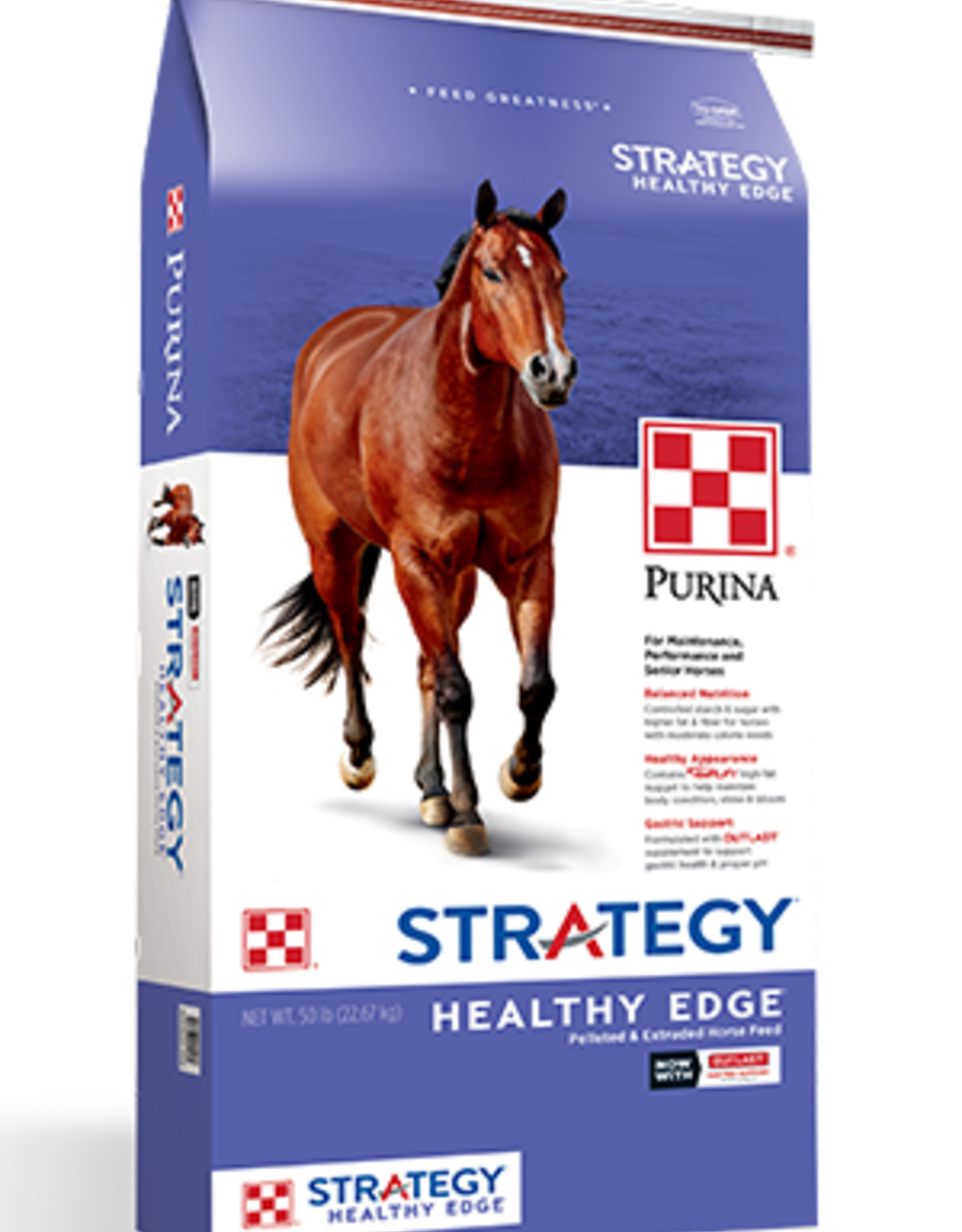 PURINA MILLS, INC. STRATEGY HEALTHY EDGE 50LBS