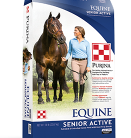 PURINA MILLS, INC. PURINA EQUINE SENIOR ACTIVE 50LBS