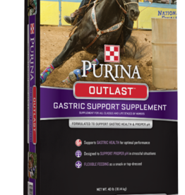PURINA MILLS, INC. OUTLAST GASTRIC SUPPORT SUPPLEMENT 40LBS PELLET