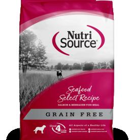 NUTRISOURCE NUTRISOURCE DOG GRAIN FREE SEAFOOD SELECT 15LBS