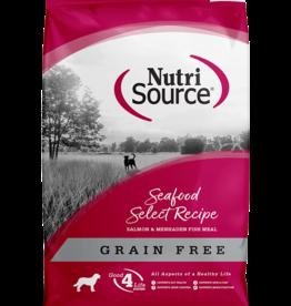 NUTRISOURCE NUTRISOURCE DOG GRAIN FREE SEAFOOD SELECT 5#