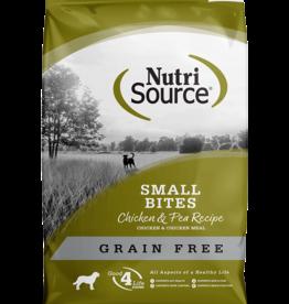 NUTRISOURCE NUTRISOURCE DOG GRAIN FREE SMALL BITES CHICKEN 15LBS