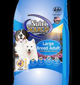 NUTRISOURCE NUTRISOURCE DOG LARGE BREED ADULT 30#