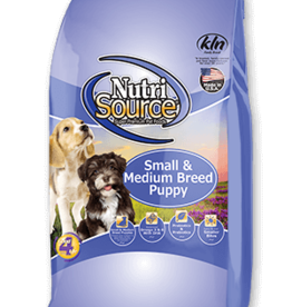 NUTRISOURCE NUTRISOURCE PUPPY SMALL & MEDIUM 15LBS