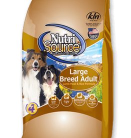 NUTRISOURCE NUTRISOURCE DOG LAMB & RICE LARGE BREED 30LBS