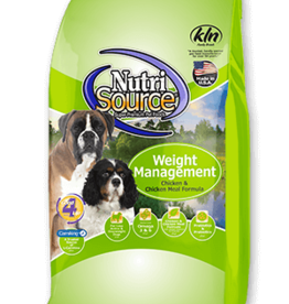 NUTRISOURCE NUTRISOURCE DOG WEIGHT MANAGEMENT 30LBS