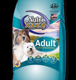 NUTRISOURCE NUTRISOURCE DOG ADULT CHICKEN & RICE 30#