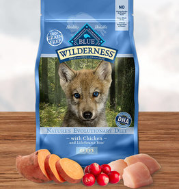 BLUE BUFFALO COMPANY BLUE BUFFALO WILDERNESS PUPPY CHICKEN 24LBS