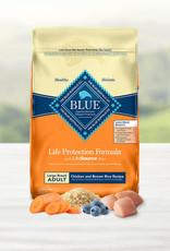 BLUE BUFFALO COMPANY BLUE BUFFALO DOG LPF ADULT LARGE BREED CHICKEN & RICE 15LBS