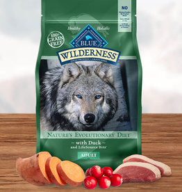 BLUE BUFFALO COMPANY BLUE BUFFALO DOG WILDERNESS DUCK 4.5LBS