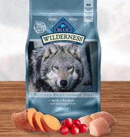 BLUE BUFFALO COMPANY BLUE BUFFALO DOG WILDERNESS CHICKEN 4.5LBS