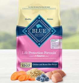BLUE BUFFALO COMPANY BLUE BUFFALO DOG LPF ADULT SMALL BREED CHICKEN & RICE 6LBS
