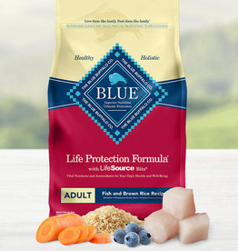BLUE BUFFALO COMPANY BLUE BUFFALO DOG LPF ADULT FISH & BROWN RICE 30LBS