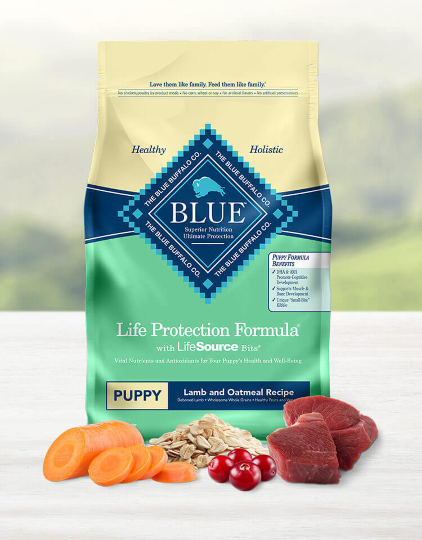 BLUE BUFFALO COMPANY BLUE BUFFALO PUPPY LAMB & OAT 30LBS