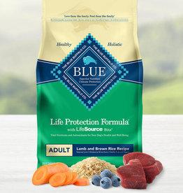 BLUE BUFFALO COMPANY BLUE BUFFALO DOG LPF ADULT LAMB & RICE 30LBS