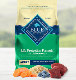 BLUE BUFFALO COMPANY BLUE BUFFALO DOG LPF ADULT LAMB & RICE 15LBS