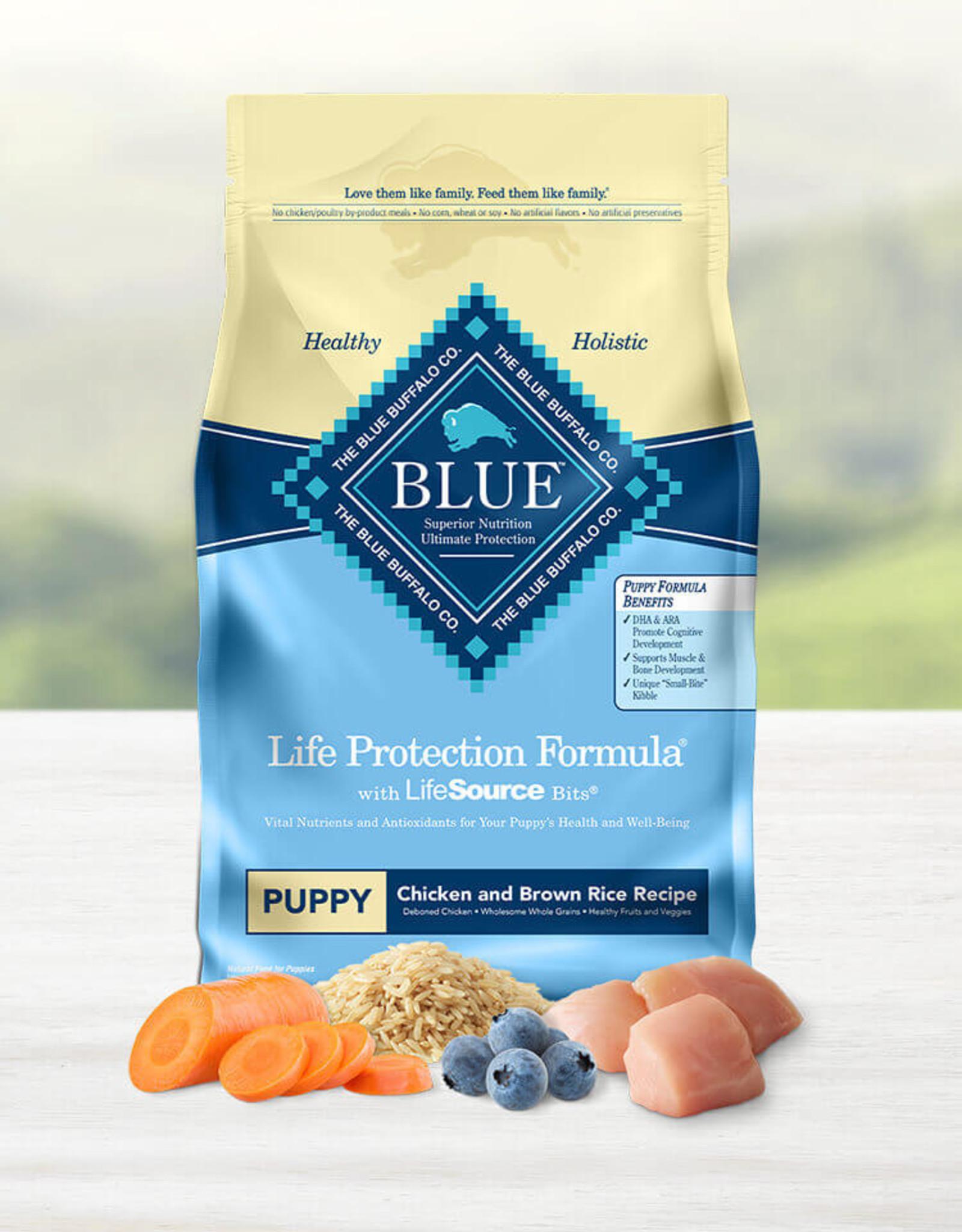 BLUE BUFFALO COMPANY BLUE BUFFALO PUPPY LPF CHICKEN & RICE 15LBS