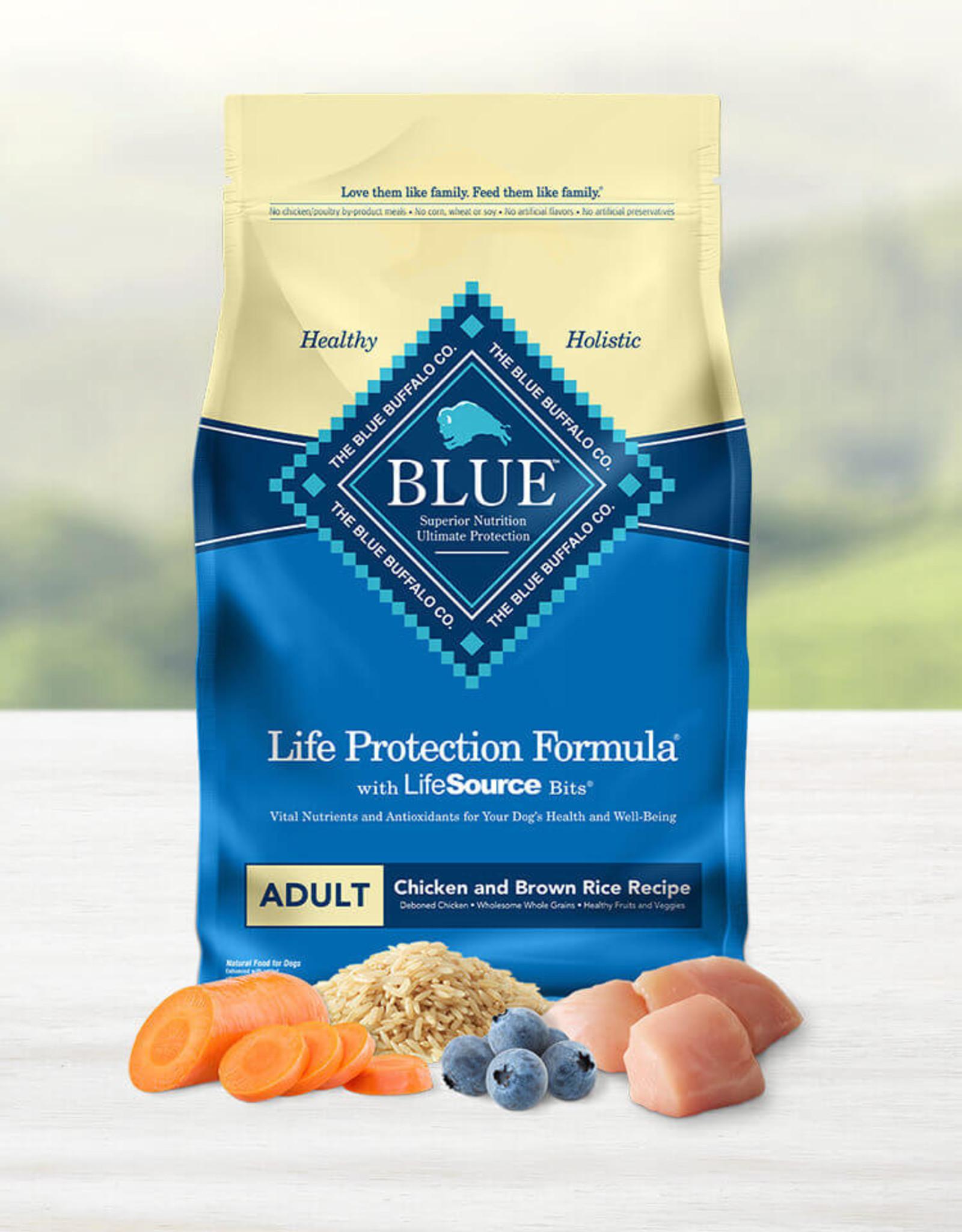 BLUE BUFFALO COMPANY BLUE BUFFALO DOG LPF ADULT CHICKEN & RICE 30LBS
