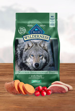 BLUE BUFFALO COMPANY BLUE BUFFALO DOG WILDERNESS DUCK 11LBS