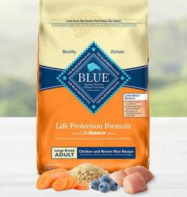 BLUE BUFFALO COMPANY BLUE BUFFALO DOG LPF ADULT LARGE BREED CHICKEN & RICE 30LBS