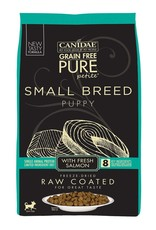 CANIDAE PET FOODS CANIDAE DOG PURE SMALL BREED PUPPY RAW COATED SALMON 4LBS