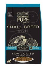 CANIDAE PET FOODS CANIDAE DOG PURE SMALL BREED RAW COATED SALMON 10LBS