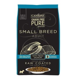 CANIDAE PET FOODS CANIDAE DOG PURE SMALL BREED RAW COATED SALMON 4LBS
