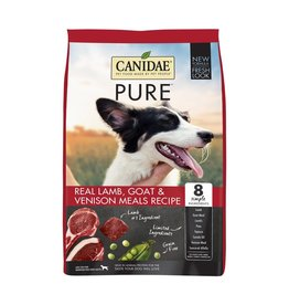 CANIDAE PET FOODS CANIDAE DOG GRAIN FREE PURE LAMB, GOAT, & VENISON 4LBS