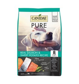 CANIDAE PET FOODS CANIDAE DOG GRAIN FREE PURE SALMON 24LBS