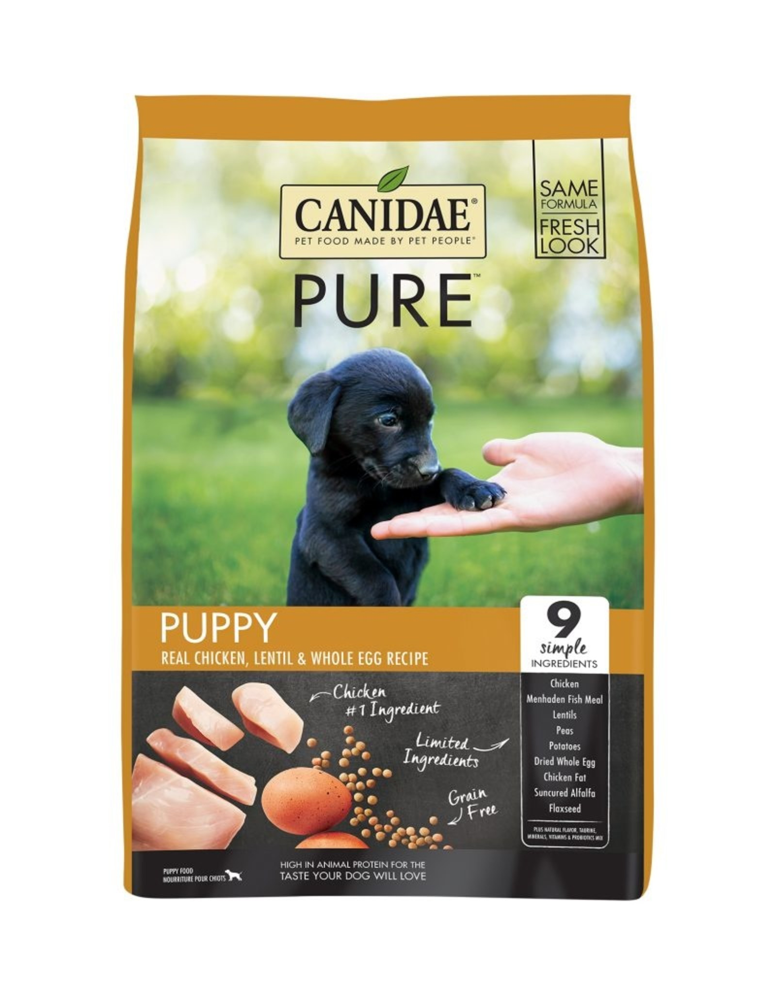 CANIDAE PET FOODS CANIDAE PUPPY GRAIN FREE PURE CHICKEN 4LBS