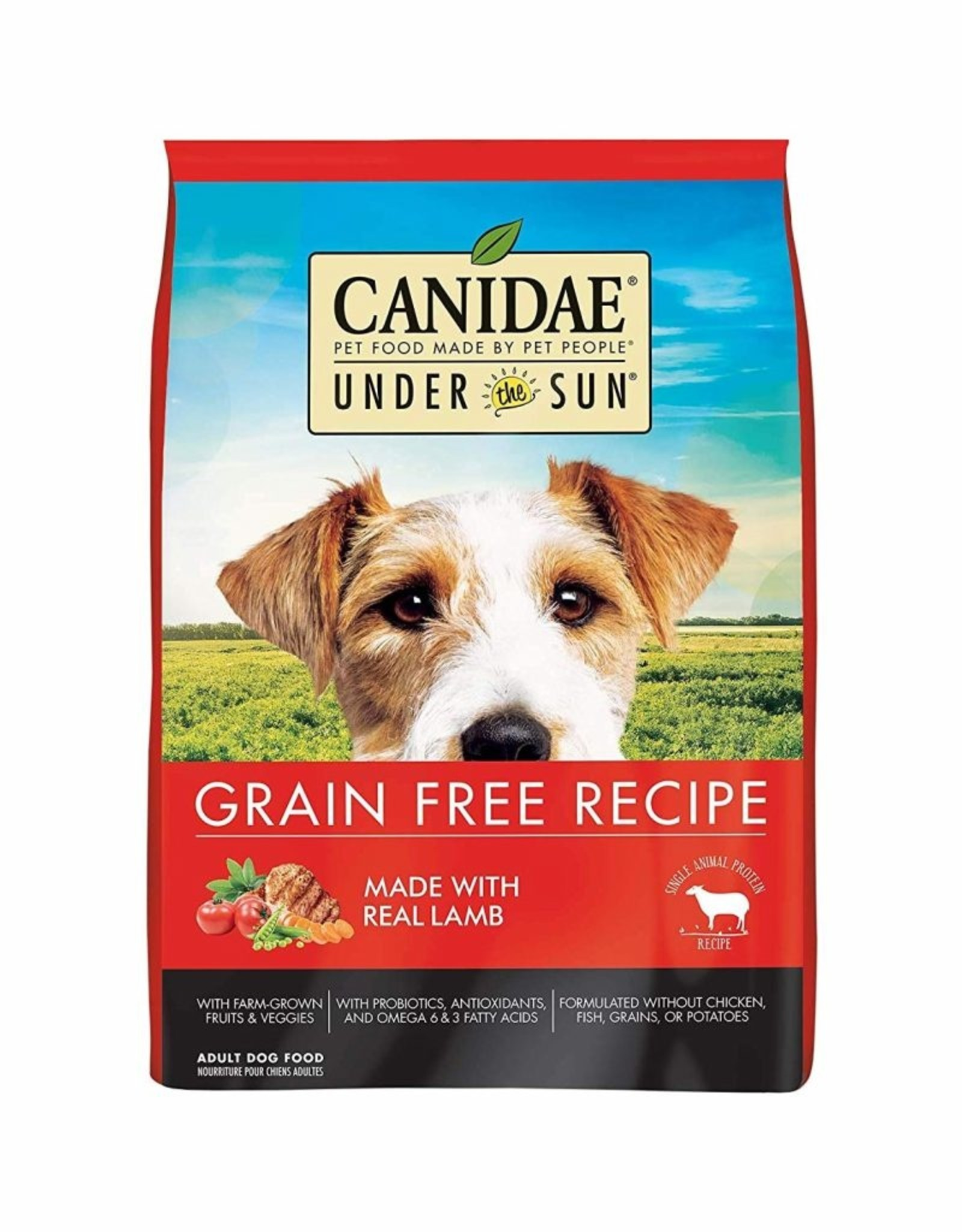 CANIDAE PET FOODS CANIDAE DOG UNDER THE SUN GRAIN FREE LAMB 25LBS