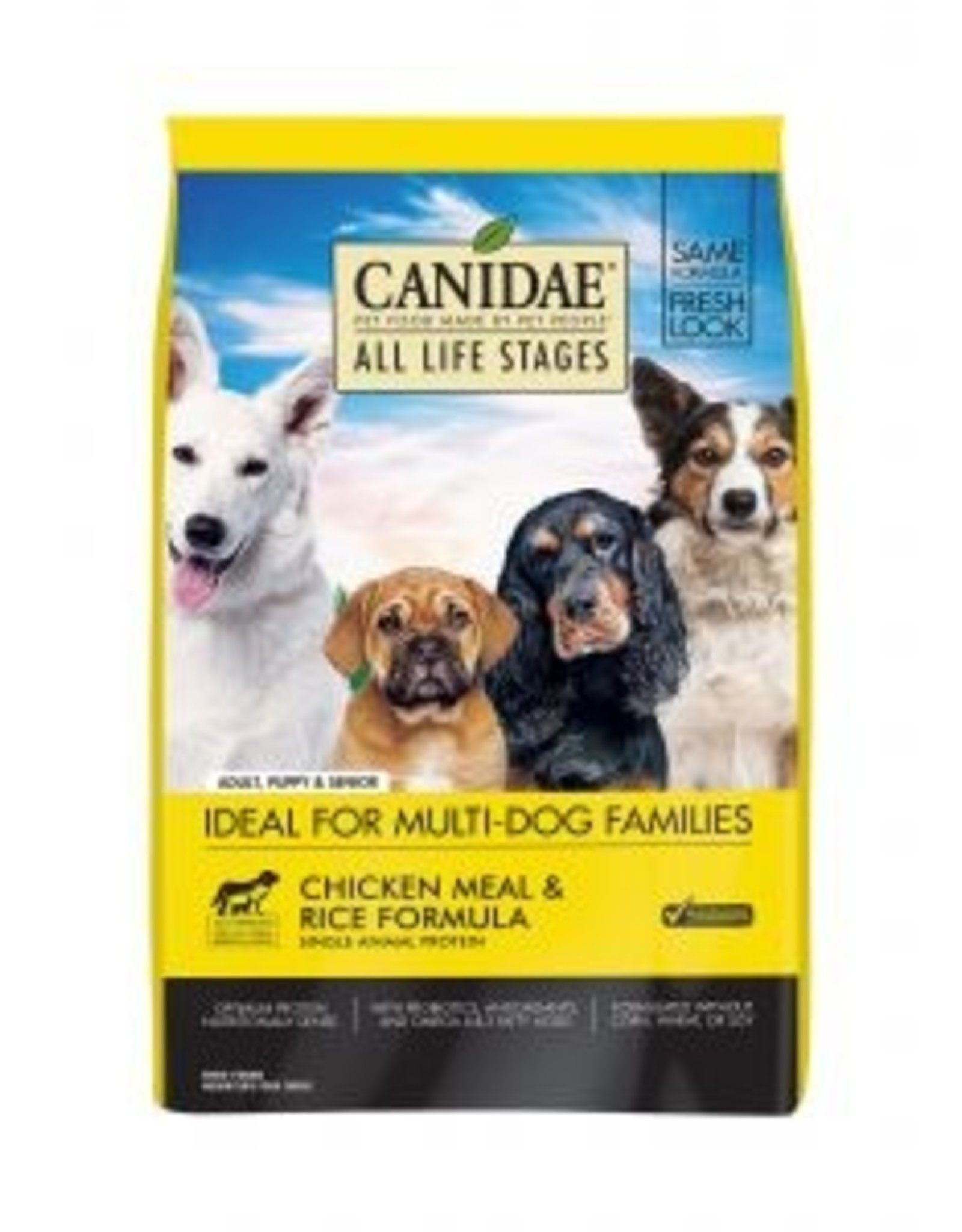 CANIDAE PET FOODS CANIDAE DOG CHICKEN & RICE 30LBS