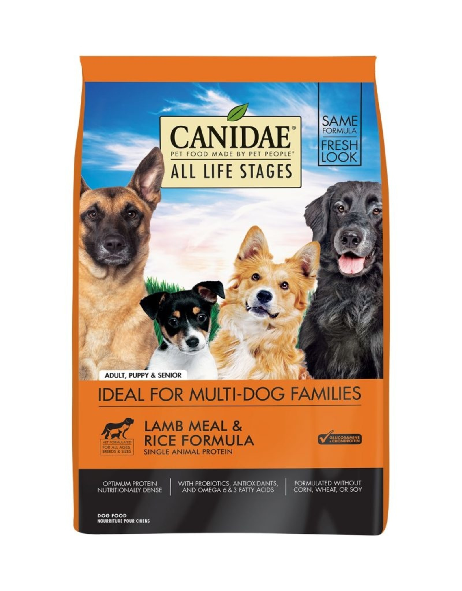 CANIDAE PET FOODS CANIDAE DOG LAMB & RICE 5LBS