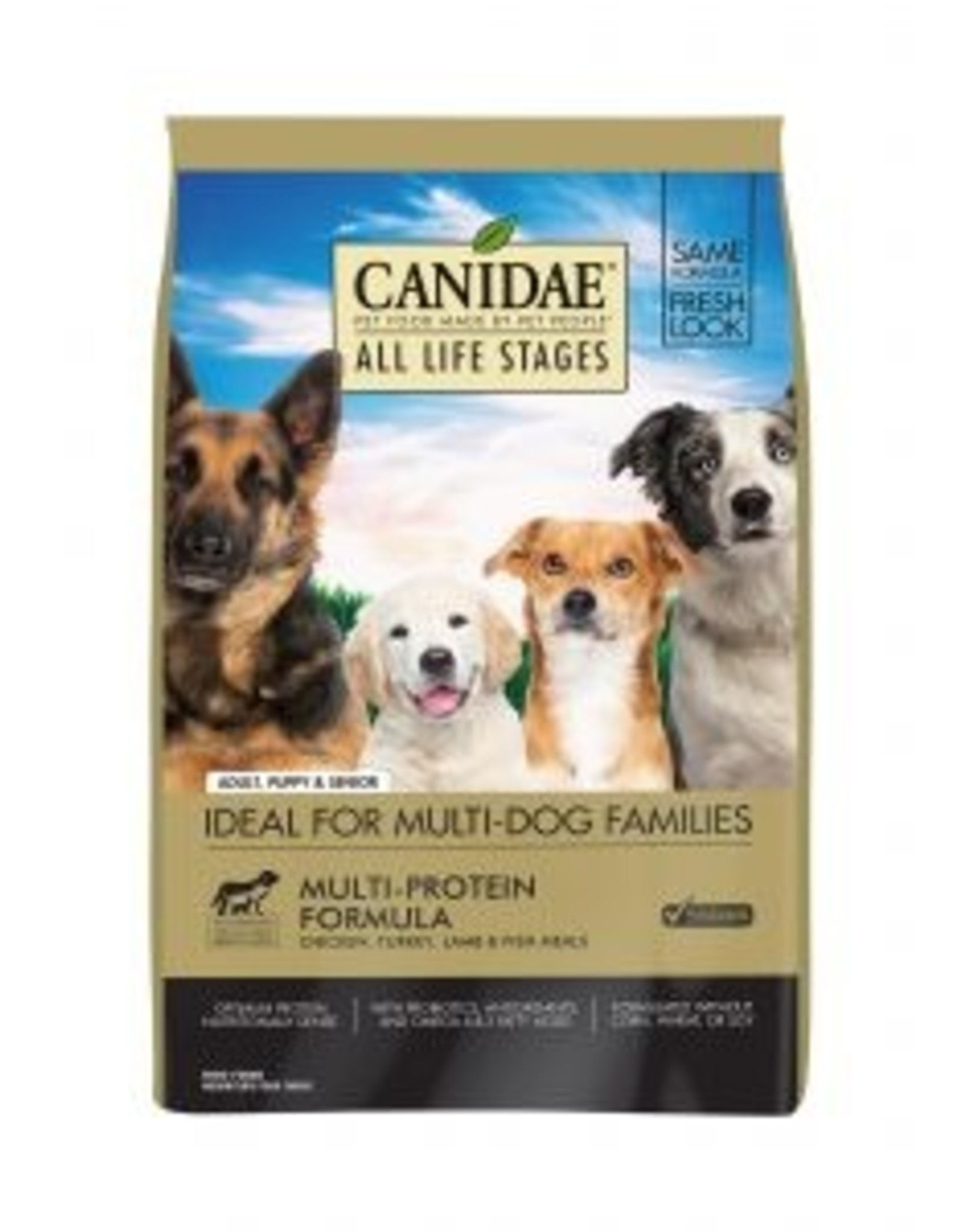 CANIDAE PET FOODS CANIDAE DOG ADULT MULTI-PROTEIN 15LBS