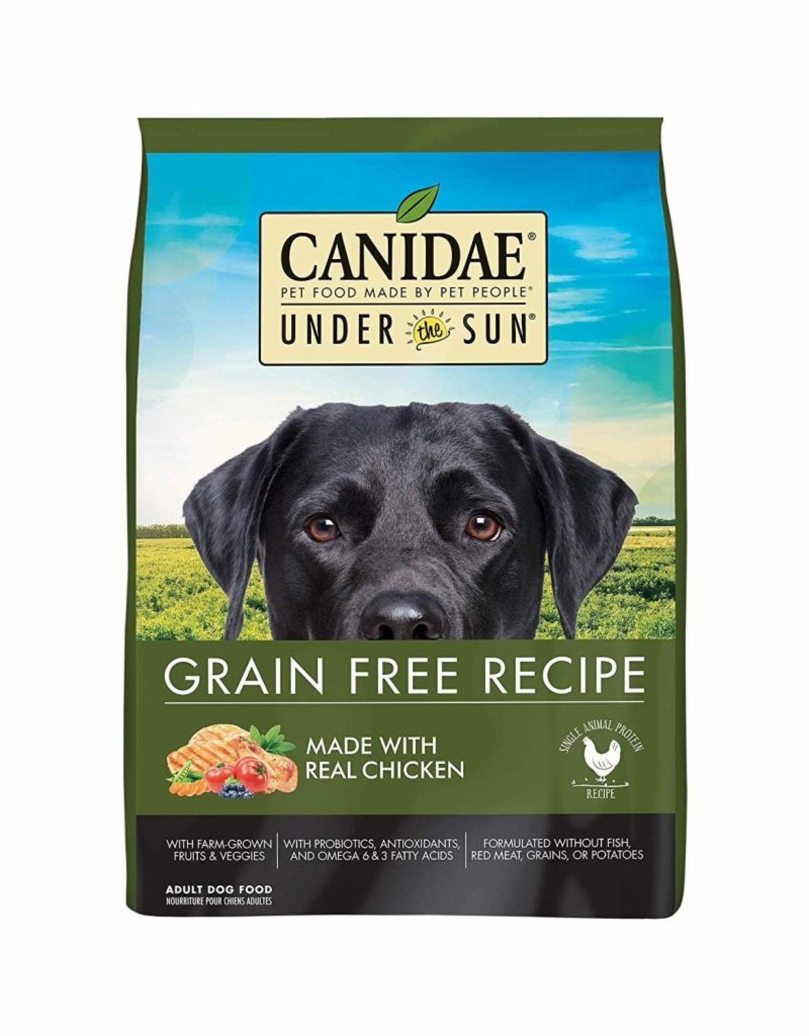 CANIDAE PET FOODS CANIDAE DOG UNDER THE SUN GRAIN FREE CHICKEN 25LBS
