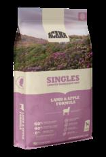 CHAMPION PET FOOD ACANA LAMB & APPLE SINGLES 4.5LBS