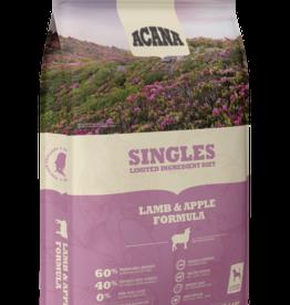 CHAMPION PET FOOD ACANA LAMB & APPLE SINGLES 4.5#